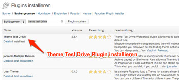 theme-test-drive-plugin-installieren