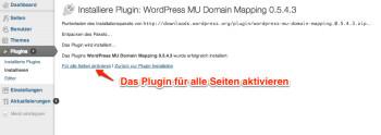 wordpress-domain-mapping-plugin-aktivieren